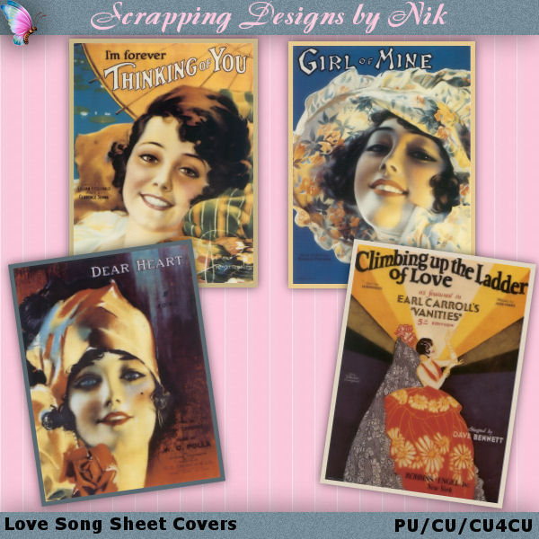 Love Song Sheet Covers