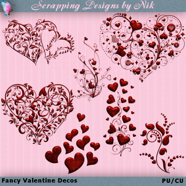 Fancy Valentine Decos