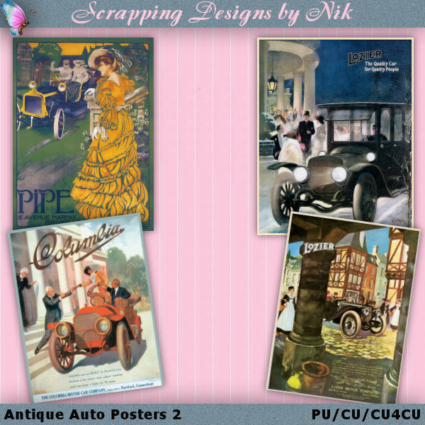 Vintage Automobile Posters 2